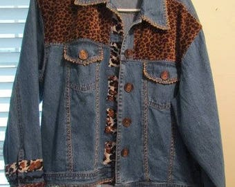 Women's Blue Jean Jacket