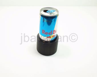 up Holder Adapter for Small 8oz REDBULL Cans - Fits Into Any Cup Holder