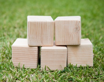 Unfinished Wood Blocks