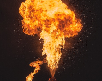 Firebreathing PRINT (16x24)