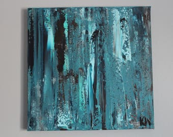 Small Abstract Painting- Original Handmade