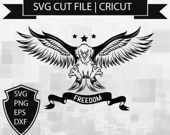 Eagle SVG,Eagle SVG Cutting files Freedom SVG Cutting files,svg cut file,Cutable,Printable,Digital Design,Instant Download