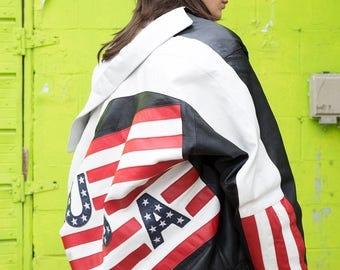 USA Leather Jacket