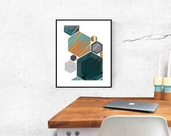 Scandinavian Art - Scandi Print - Scandi Design - Scandinavian Design - Scandinavian Print - Minimalist Print