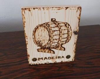 Wine barrel. wine
