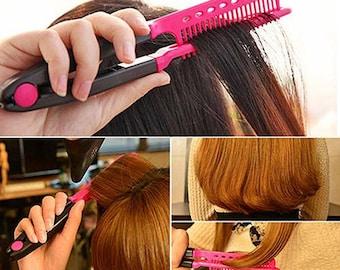 V Type Hair Straightener Comb (heat free)