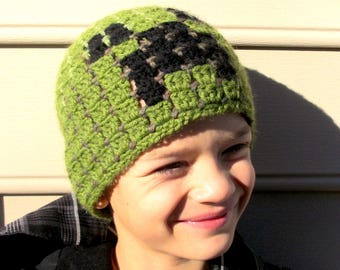 Minecraft Creeper beany