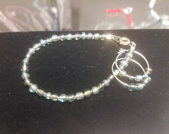 Bracelet with Matching Earrings