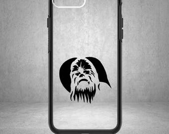 Chewbacca Vinyl Decal, Chewbacca Sticker, Chewbacca Decal, Star Wars Decal, Star Wars Sticker, Star Wars, Phone Case, Chewbacca, Chewy