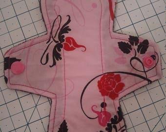 """7"""" Pink Floral liner"""