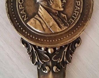 Napoleon Bonaparte Paris France Metal Letter opener