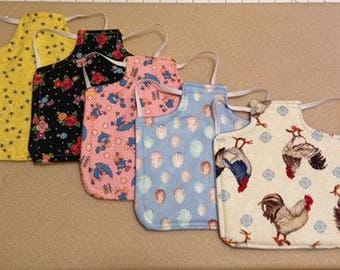 CHICKEN SADDLE / Hen Apron / Poultry back protector