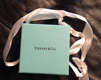 Authentic Tiffany & Co. Store jewelry box