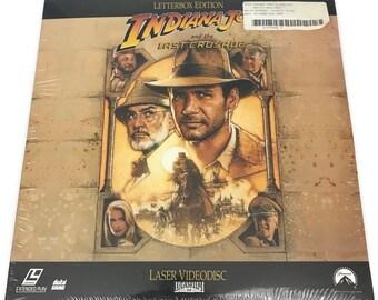 Indiana Jones Laser Disc