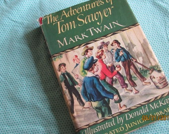 The Adventures of Tom Sawyer, Mark Twain, illustrations Donald McKay