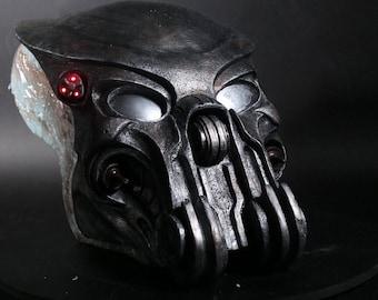 Celtic Predator bio mask prop replica 1:1 scale