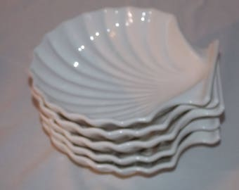 Shell Plates Set of 5