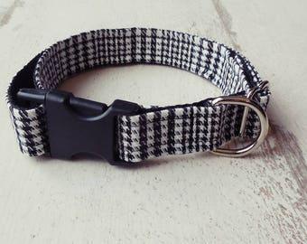 """Adjustable dog collar """"Earl Grey"""""""