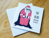 The Hero that Christmas Deserves Christmas Card