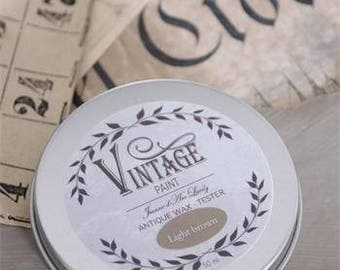 Jeanne d'Arc Vintage Antique Wax in Light Brown