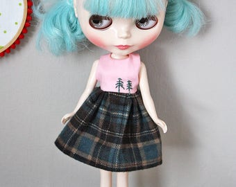 SALE TWIN PEAKS Collection /// Audrey Horne Dress for Blythe Doll