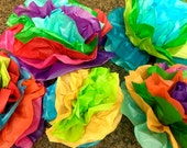 Mexican Paper Flower Backdrop Tissue Pom Poms - Wedding Baby Bridal Shower Party Decorations