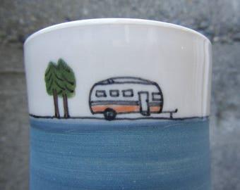 Camper Cup in Dark Blue
