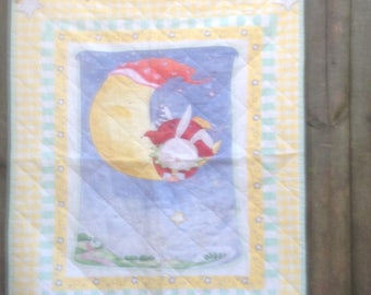 Land of Milk and Honey Baby Quilt FREE SHIPPING