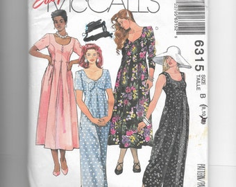McCall's Misses' Jumpsuit and Dress Pattern 6315