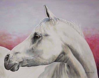 WHITE HORSE: Print