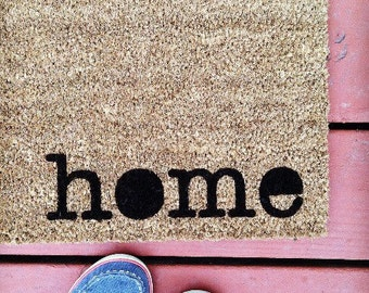 Where You Hang Your Hat Doormat home Natural CoCo Coir Fiber Modern Tagged Outdoor Welcome Mat Custom doormat