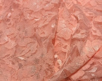 Floral Lace Fabric 1 Yard