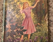 Vintage fiction book A Girl Of The Limberlost gift antique Triangle Books