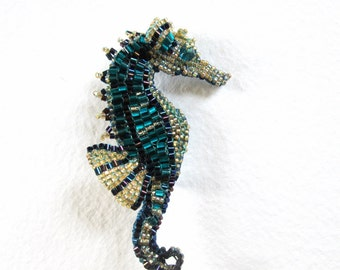 Sea Horse Brooch Bead Kit Only