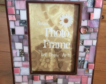 Picture Frame Mixed Media Mosaic Photo Frame 4x6
