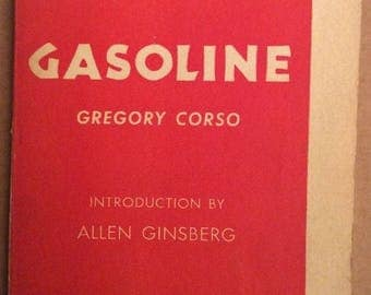 Pocket Poets Series Gasoline by Gregory Corso Allen Ginsberg Number Eight Beatnik