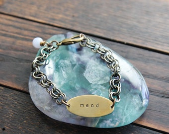 custom oval bracelet