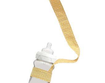 Drinky Leash - Gold Hexagon