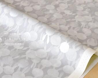 Cotton + Steel Sleep Tight - bunbuns - grey, metallic silver - 50cm