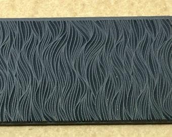 SEAWEED SYMPHONY  Rubber Texture Stamp Mat for Clay Ink Acrylics   TTL160