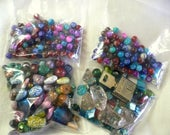 RESERVED for SARAH  Assortment of Beads plus one Jaguar Lock and Key