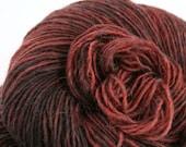 Olana fingering weight cormo alpaca angora blend yarn 300yds/274m 2oz/57g Black Cherry