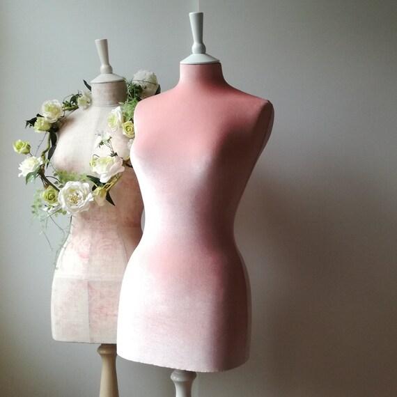 Female display wedding dress mannequin velvet home decor for Wedding dress display at home