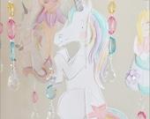 Fairytale Dreams Baby Mobile Nursery Room Decor