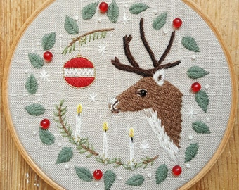 That Old Christmas Feeling Embroidery Pattern