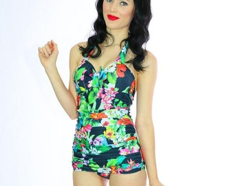 Perla Tropical One Piece Swimsuit