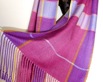 Handwoven Silk Wrap/Scarf