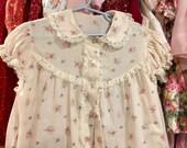 Handmade Girls Robe 1940s 5/6