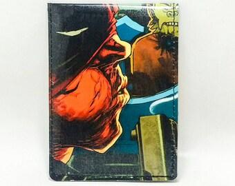 Sewn Comic Book Wallet - Deadpool