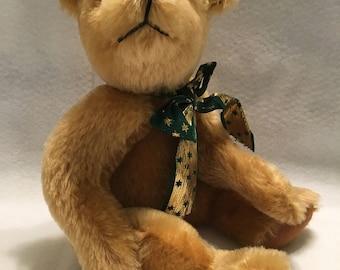 Handmade Artist Collectible Mohair Teddy Bear by Terrybears